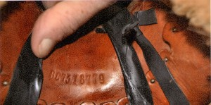 Tack Marking Two Locations on Saddles